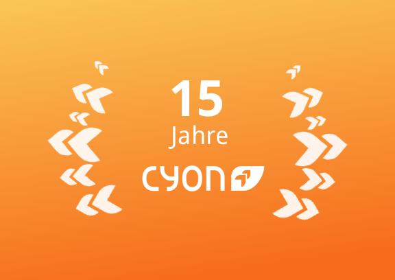 15 Jahre cyon