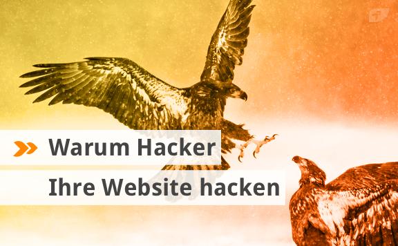 Warum Hacker Ihre Website hacken