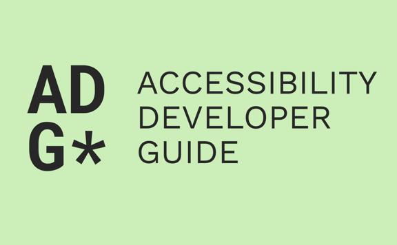 Accessibility Developer Guide (ADG)