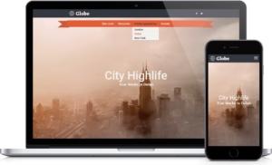 Homepage Baukasten von hosttech